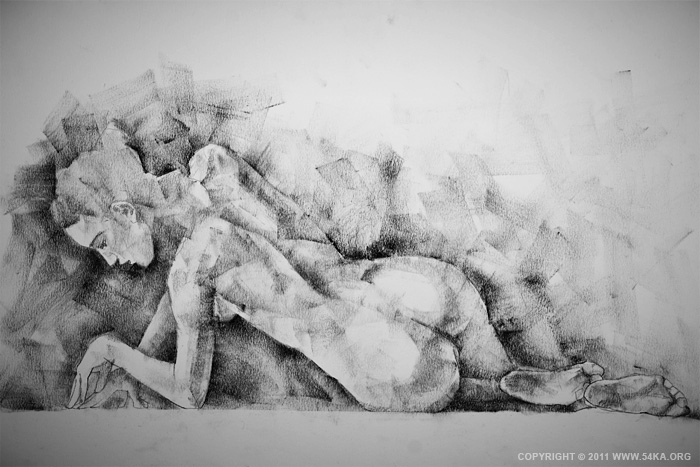 0016 :: SketchBook Page 7 :: buy art prints :: Figure Drawing Female Image charcoal Body Sketch study Pose pencil Human Body