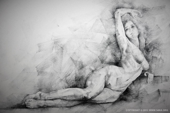 0017 :: SketchBook Page 8 :: buy art prints :: Figure Drawing Female Image charcoal Body Sketch study Pose pencil Human Body
