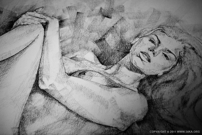 0045 :: SketchBook Page 9 :: buy art prints :: Figure Drawing Female Image charcoal Body Sketch study Pose pencil Human Body
