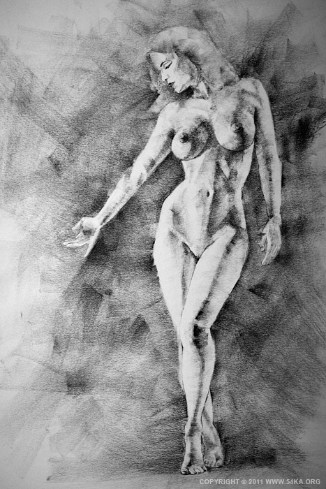 001 :: SketchBook Page 13 :: view all sketchbook  :: Figure Drawing Female Image charcoal Body Sketch study Pose pencil Human Body