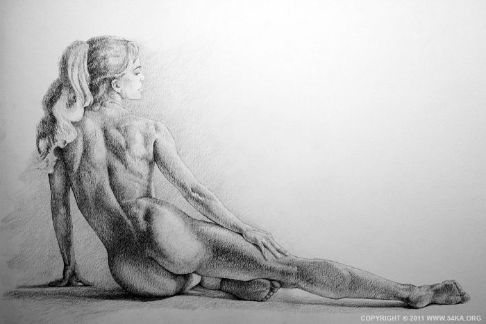 0011 :: SketchBook Page 16 :: view all sketchbook  :: Figure Drawing Female Image charcoal Body Sketch study Pose pencil Human Body