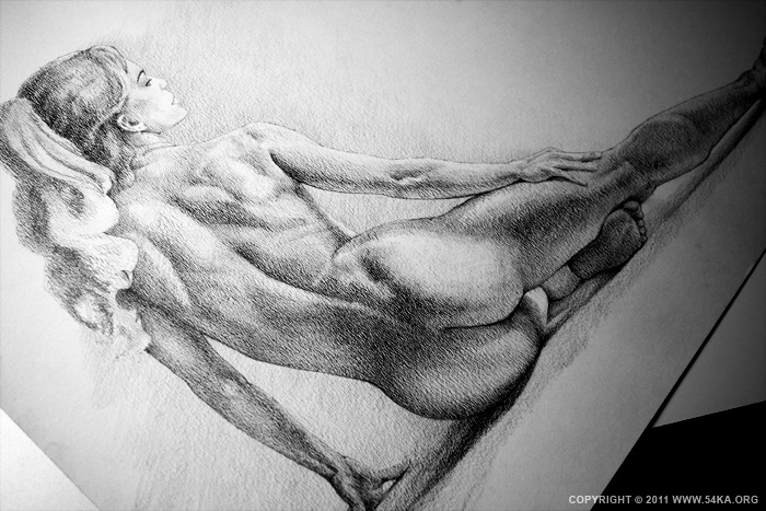 0021 :: SketchBook Page 16 :: buy art prints :: Figure Drawing Female Image charcoal Body Sketch study Pose pencil Human Body