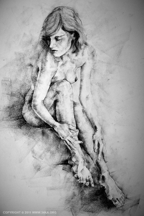 page14 01 :: SketchBook Page 14 :: buy art prints :: Figure Drawing Female Image charcoal Body Sketch study Pose pencil Human Body