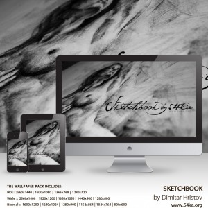 Sketchbook Wallpaper Pack