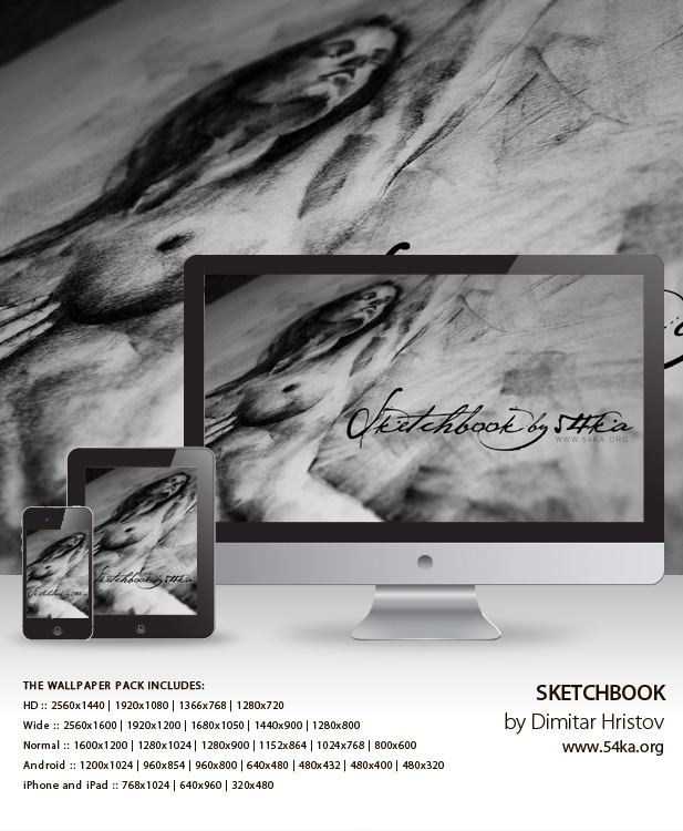 sketchbook wallpaper pack 01 by 54ka :: Sketchbook Wallpaper Pack :: view all :: Figure Drawing Female Image charcoal Body Sketch study Pose pencil Human Body