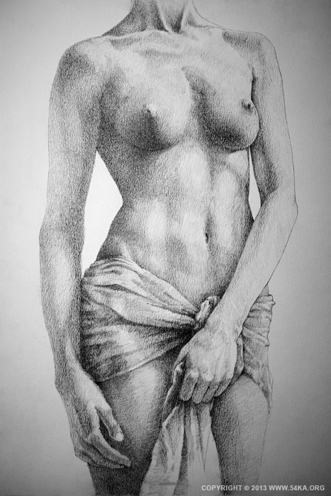 Page 35 01 by 54ka :: SketchBook Page 35   The Female Pencil Drawing :: view all sketchbook  :: Figure Drawing Female Image charcoal Body Sketch study Pose pencil Human Body