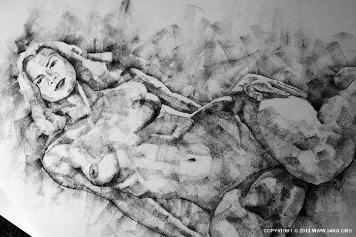 Page 36 03 by 54ka :: SketchBook Page 36   Female Sitting Pose Drawing :: view all sketchbook  :: Figure Drawing Female Image charcoal Body Sketch study Pose pencil Human Body