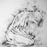 SketchBook Page 49 – Kneeling Pose Drawing