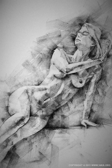 0031 :: SketchBook Page 2 :: view all sketchbook  :: Figure Drawing Female Image charcoal Body Sketch study Pose pencil Human Body