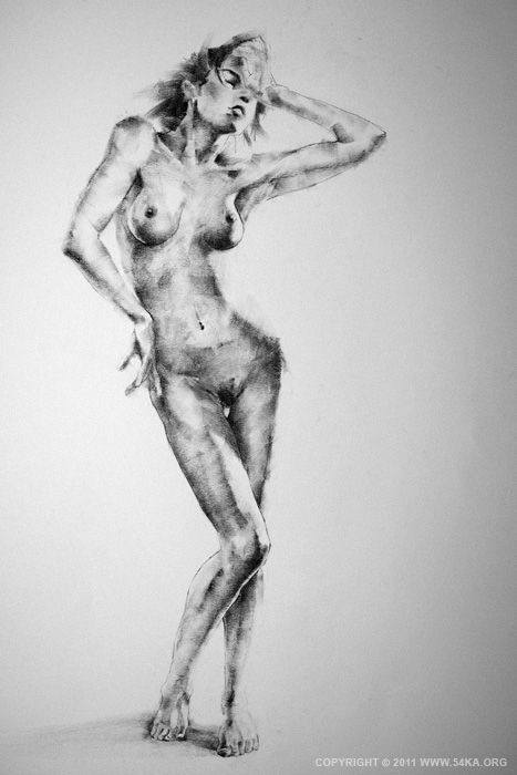 IMG 4581 :: SketchBook Page 10 :: view all figure drawing featured charcoal art  :: Figure Drawing Female Image charcoal Body Sketch study Pose pencil Human Body