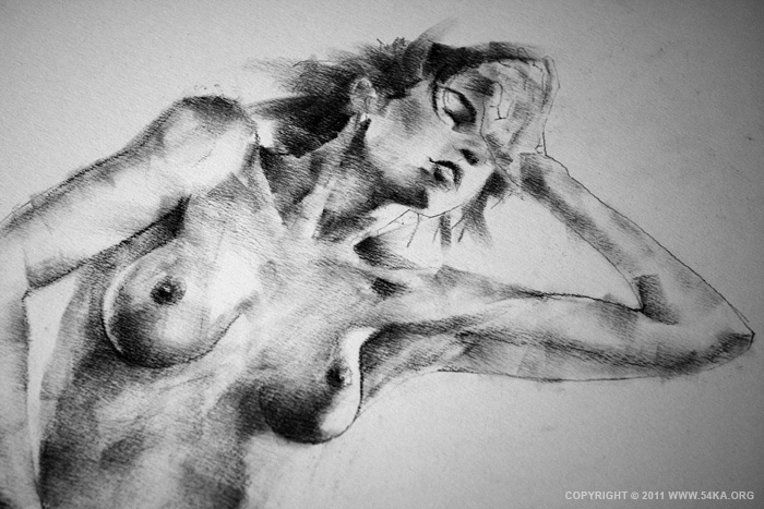 IMG 5144 :: SketchBook Page 10 :: view all sketchbook  :: Figure Drawing Female Image charcoal Body Sketch study Pose pencil Human Body