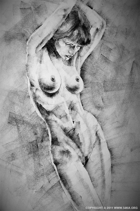 0012 :: SketchBook  Page 17 :: view all figure drawing featured charcoal art  :: Figure Drawing Female Image charcoal Body Sketch study Pose pencil Human Body