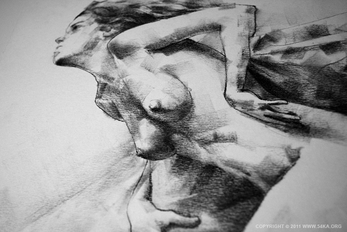 IMG 5269 :: SketchBook Page 11 :: view all sketchbook index top  :: Figure Drawing Female Image charcoal Body Sketch study Pose pencil Human Body