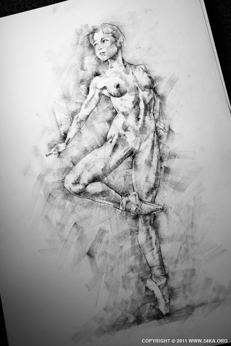 Page 27 03 by 54ka :: SketchBook Page 27 :: view all sketchbook  :: Figure Drawing Female Image charcoal Body Sketch study Pose pencil Human Body