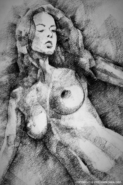 Page 29 02 by 54ka :: SketchBook Page 29 :: view all sketchbook  :: Figure Drawing Female Image charcoal Body Sketch study Pose pencil Human Body