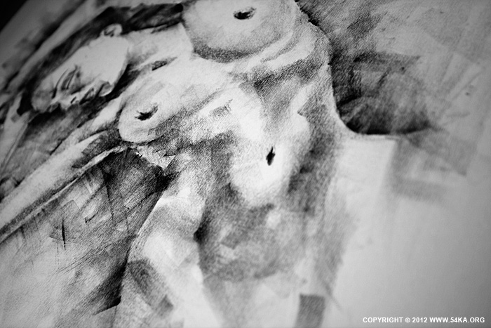 Page 31 02 by 54ka :: SketchBook Page 31 :: view all sketchbook  :: Figure Drawing Female Image charcoal Body Sketch study Pose pencil Human Body