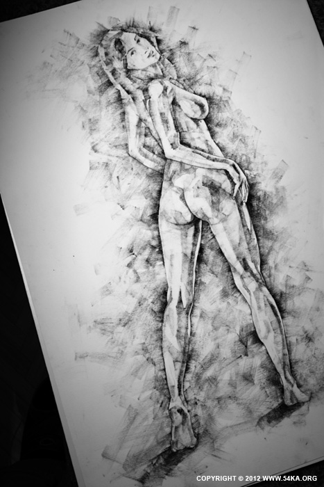 Page 32 01 by 54ka :: SketchBook Page 32 :: view all figure drawing charcoal art  :: Figure Drawing Female Image charcoal Body Sketch study Pose pencil Human Body