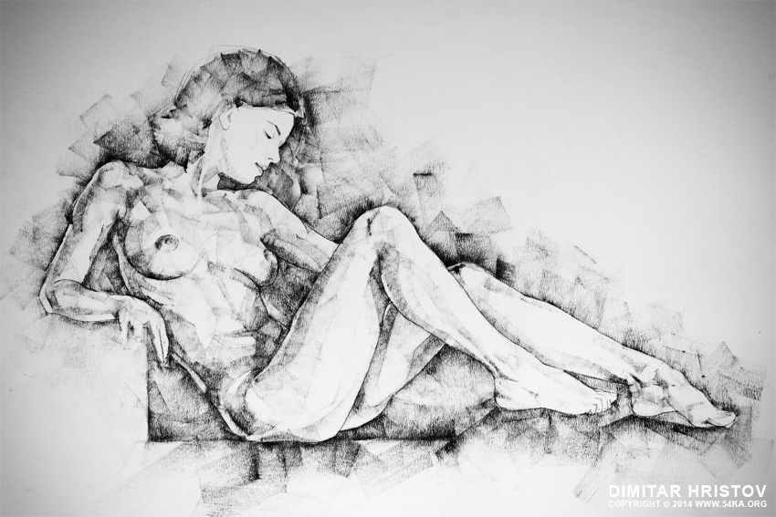 sketchbook page 42 drawing girl sitting pose 01 by 54ka :: SketchBook Page 42 – Drawing girl sitting pose :: view all index top figure drawing charcoal art  :: Figure Drawing Female Image charcoal Body Sketch study Pose pencil Human Body