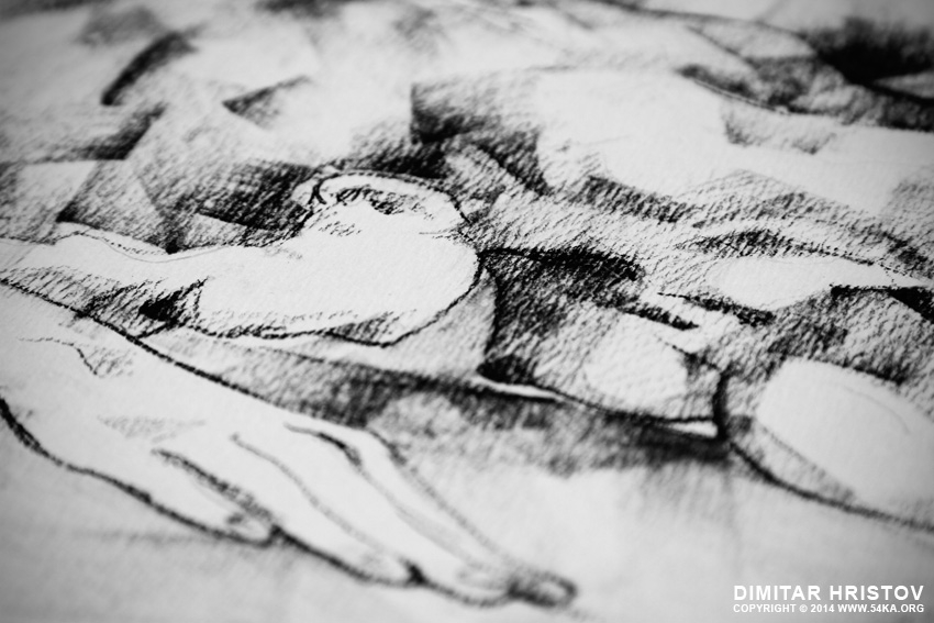 sketchbook page 45 woman lying on stomach life drawing female figure 02 by 54ka :: SketchBook Page 45 – Woman Lying on Stomach   life drawing female figure :: view all sketchbook  :: Figure Drawing Female Image charcoal Body Sketch study Pose pencil Human Body