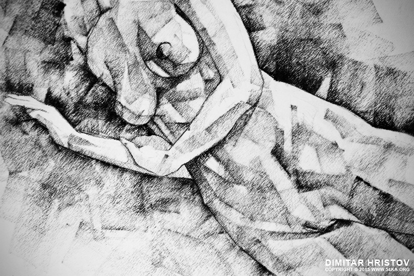 sketchbook page 50 drawings of girl classic straight pose 03 by 54ka :: SketchBook Page 50 – Drawings of girl classic straight pose :: view all sketchbook  :: Figure Drawing Female Image charcoal Body Sketch study Pose pencil Human Body