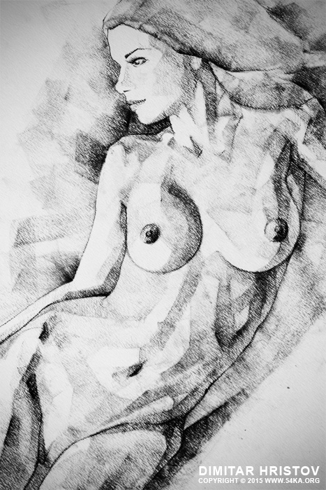 figure drawing fine art woman classical pose 02 by 54ka :: SketchBook Page 51   Figure Drawing   Fine Art   Woman classical pose :: view all sketchbook  :: Figure Drawing Female Image charcoal Body Sketch study Pose pencil Human Body