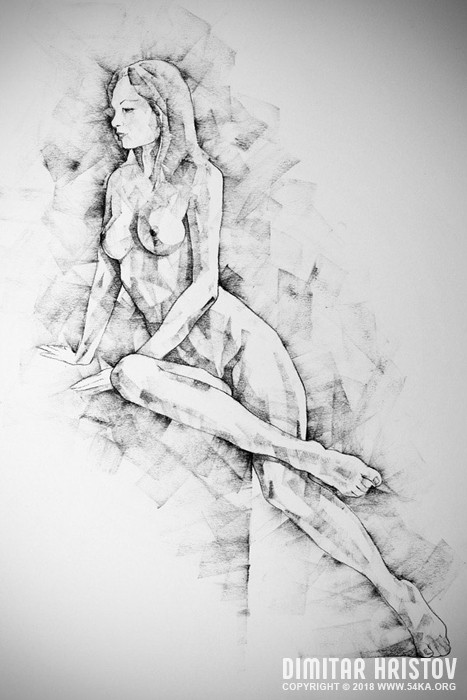 sketchbook page 57 woman one side sitting pose drawing 001 by 54ka :: SketchBook Page 57 – Woman one side sitting pose drawing :: view all figure drawing charcoal art  :: Figure Drawing Female Image charcoal Body Sketch study Pose pencil Human Body