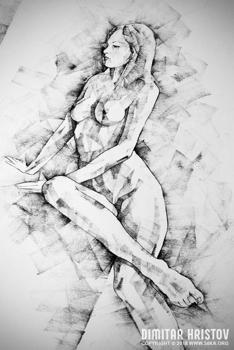 sketchbook page 57 woman one side sitting pose drawing 004 by 54ka :: SketchBook Page 57 – Woman one side sitting pose drawing :: view all sketchbook  :: Figure Drawing Female Image charcoal Body Sketch study Pose pencil Human Body