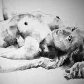 SketchBook Page 60 – Art Drawing Female Lateral Classical Pose