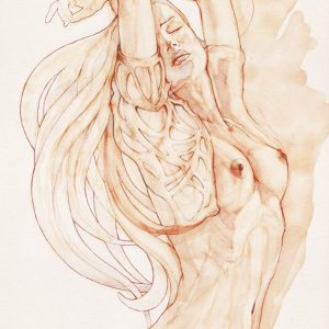 Dancing Woman – Aquarelle