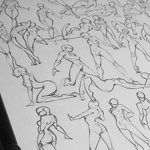 Sketchbook Pose Reference – 40 poses for 30 minutes
