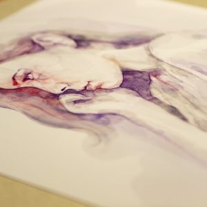 Watercolour Sensual Portrait