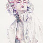 Watercolor Girl Portrait