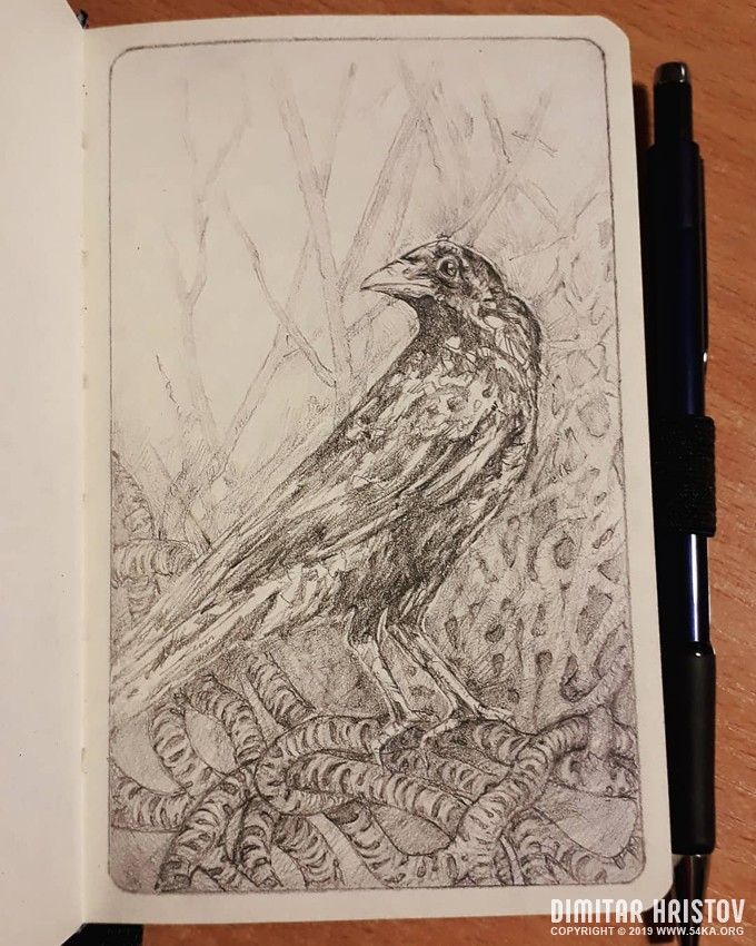 pencil sketch of a raven by 54ka :: Pencil sketch of a Raven :: view all sketchbook pencil art illustration  :: Figure Drawing Female Image charcoal Body Sketch study Pose pencil Human Body