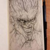 The Joker – Quick pencil sketch