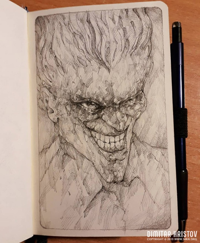 the joker quick pencil sketch by 54ka :: The Joker   Quick pencil sketch :: view all pencil art featured fantasy art  :: Figure Drawing Female Image charcoal Body Sketch study Pose pencil Human Body