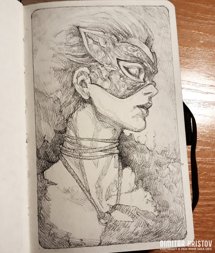 sketchbook drawing of beautiful lady with fashion mask by 54ka :: Sketchbook drawing of beautiful lady with fashion mask :: view all sketchbook pencil art featured fantasy art  :: Figure Drawing Female Image charcoal Body Sketch study Pose pencil Human Body