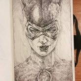 Catwoman – Sketchbook drawing