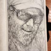 Self Portrait – Sketchbook drawing