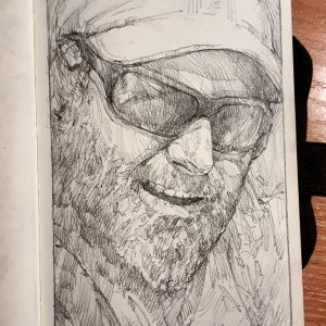 Self Portrait – Sketchbook drawing