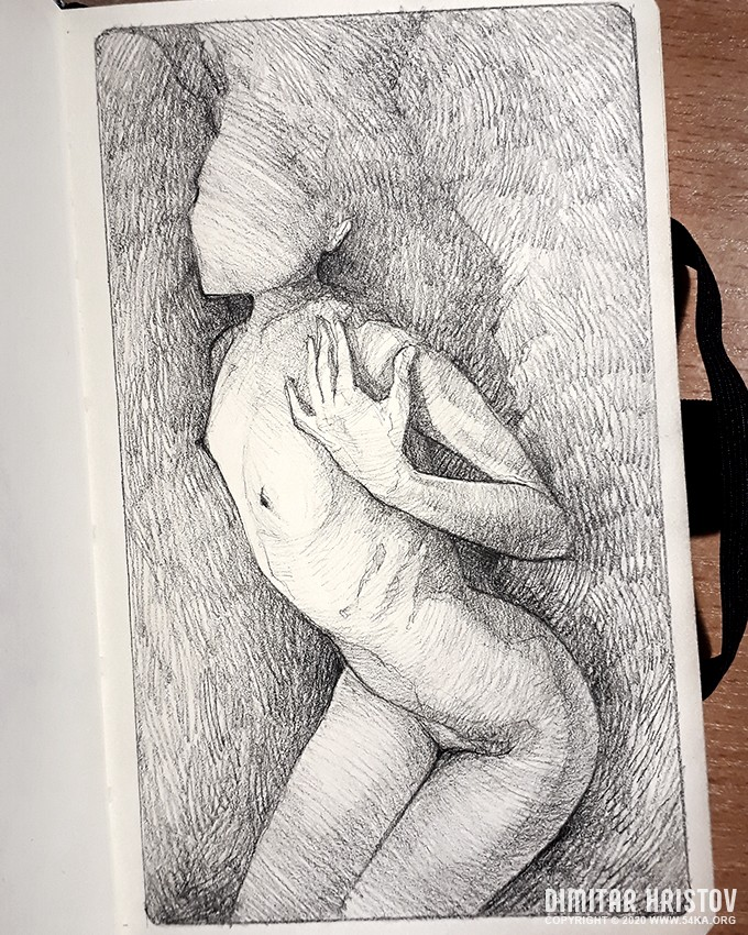 sensual woman pose pencil drawing by 54ka :: Sensual Woman Pose   Pencil drawing :: view all sketchbook pose reference pencil art figure drawing featured  :: Figure Drawing Female Image charcoal Body Sketch study Pose pencil Human Body
