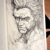 The Werewolf – Sketchbook Drawing