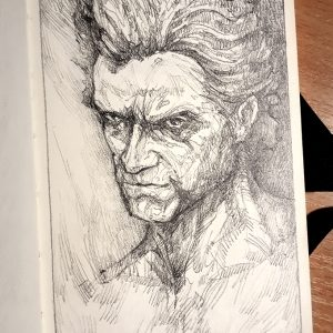 The Werewolf – Sketchbook Drawing