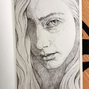 Girl portrait – Quick sketch
