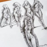 Pose Reference – Sketch Dailydose