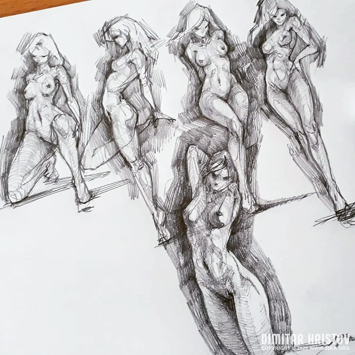 pose reference sketch dailydose by 54ka :: Pose Reference   Sketch Dailydose :: view all sketchbook pencil art figure drawing  :: Figure Drawing Female Image charcoal Body Sketch study Pose pencil Human Body
