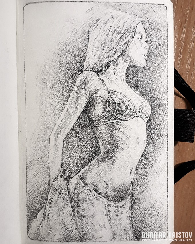 sensual woman quick sketch pencil drawing by 54ka :: Sensual Woman Quick sketch   Pencil drawing :: view all sketchbook pencil art figure drawing featured  :: Figure Drawing Female Image charcoal Body Sketch study Pose pencil Human Body