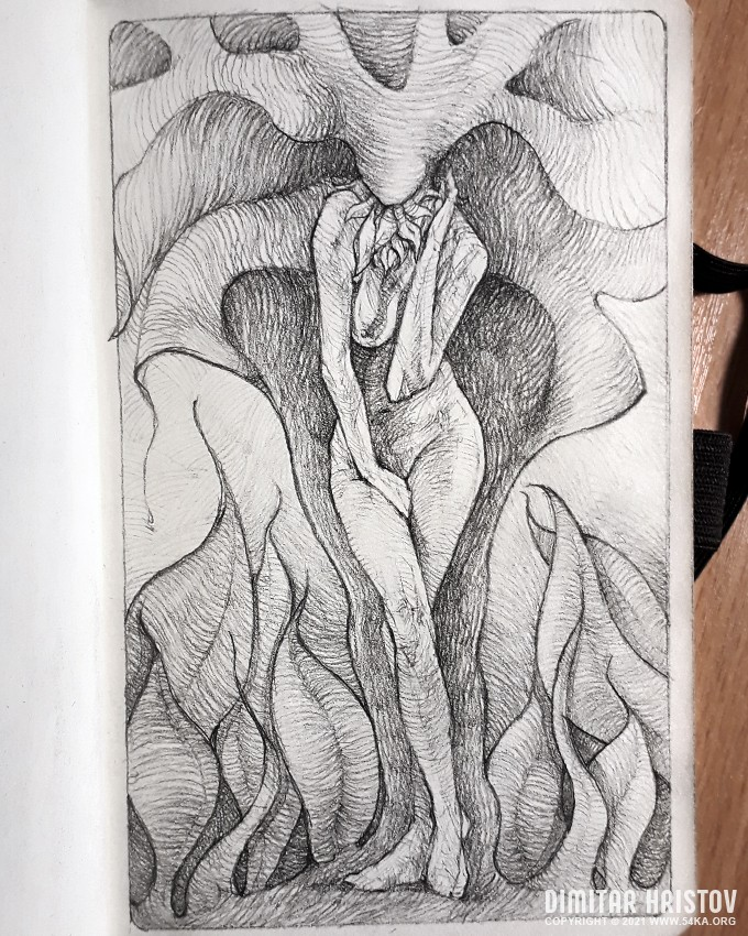 fantasy woman pose drawing sketchbook drawing by 54ka 1 :: Fantasy woman pose drawing   Sketchbook drawing :: view all sketchbook pencil art illustration figure drawing featured fantasy art  :: Figure Drawing Female Image charcoal Body Sketch study Pose pencil Human Body